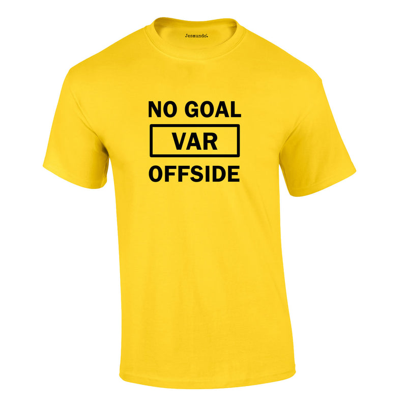 Var Tee In Yellow