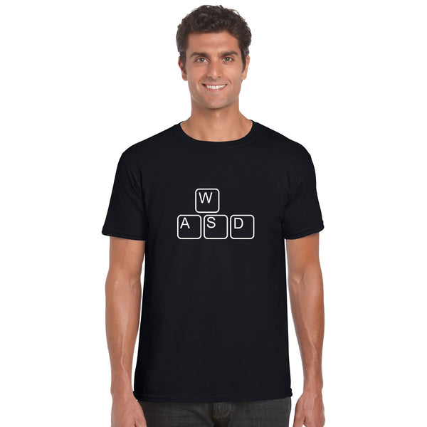 WASD Gaming Keyboard T Shirt