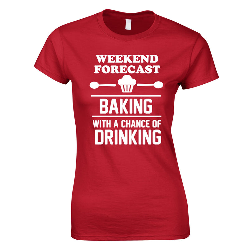 Weekend Forecast Baking With A Chance Of Drinking Top In Red