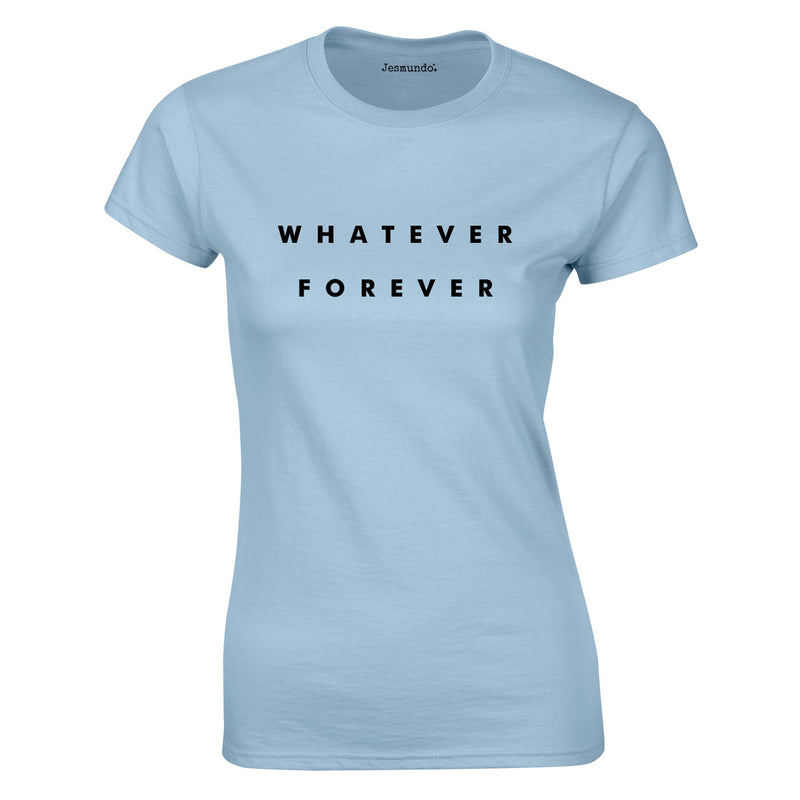 Whatever Forever Ladies Top In Sky