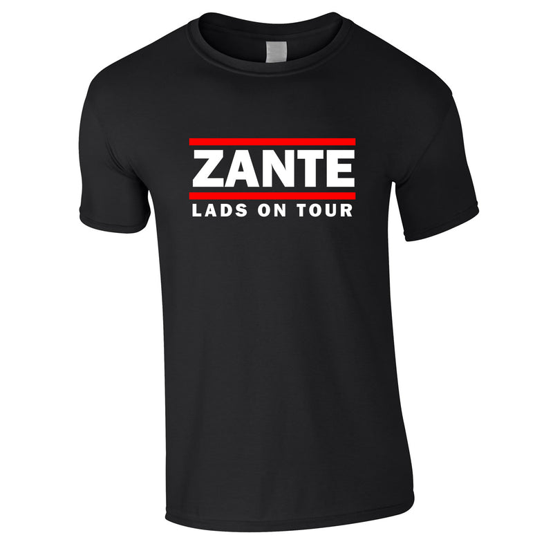Zante Lads On Tour Holiday T Shirts