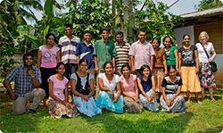 A group of Lanka Kade workers in Sri Lanka