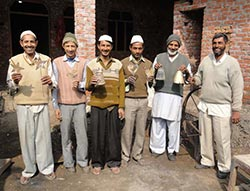 Noah's Ark workers at Saharanpur.
