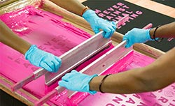 Teddy Exports - screen printing