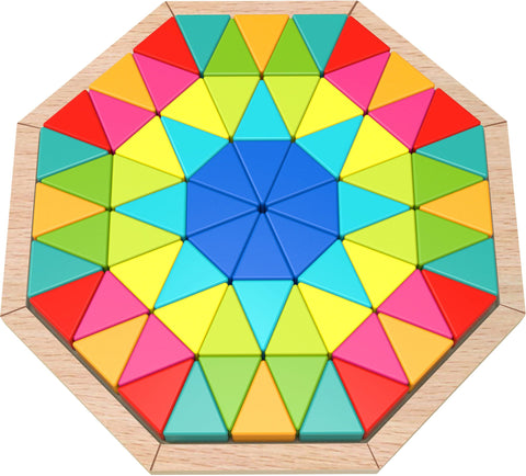 Wooden Octagon Puzzle (73pcs)