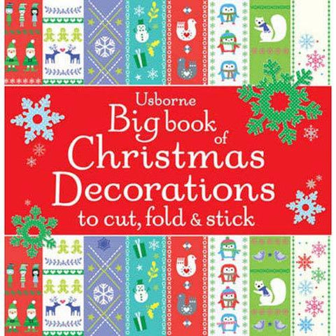 Big Book of Christmas Decorations - Usborne