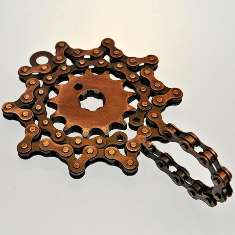 Fair Trade Bicycle Chain Coathook - Single Cog