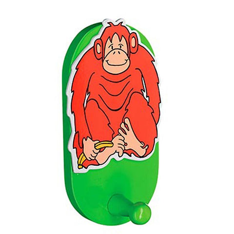 Fair Trade Coat Hook - Orangutan