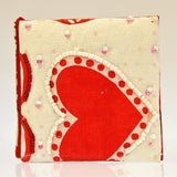 Fair Trade Compact Mirror - Recycled Hearts Material