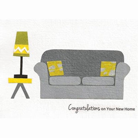 Fair Trade New Home Card - 'Getting Comfy'
