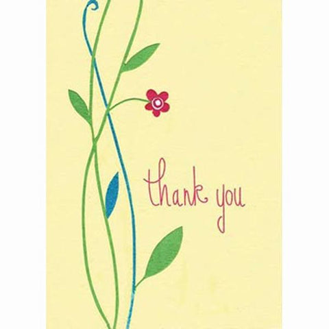 Fair Trade Thank You Card - Elegant 'Thank You'