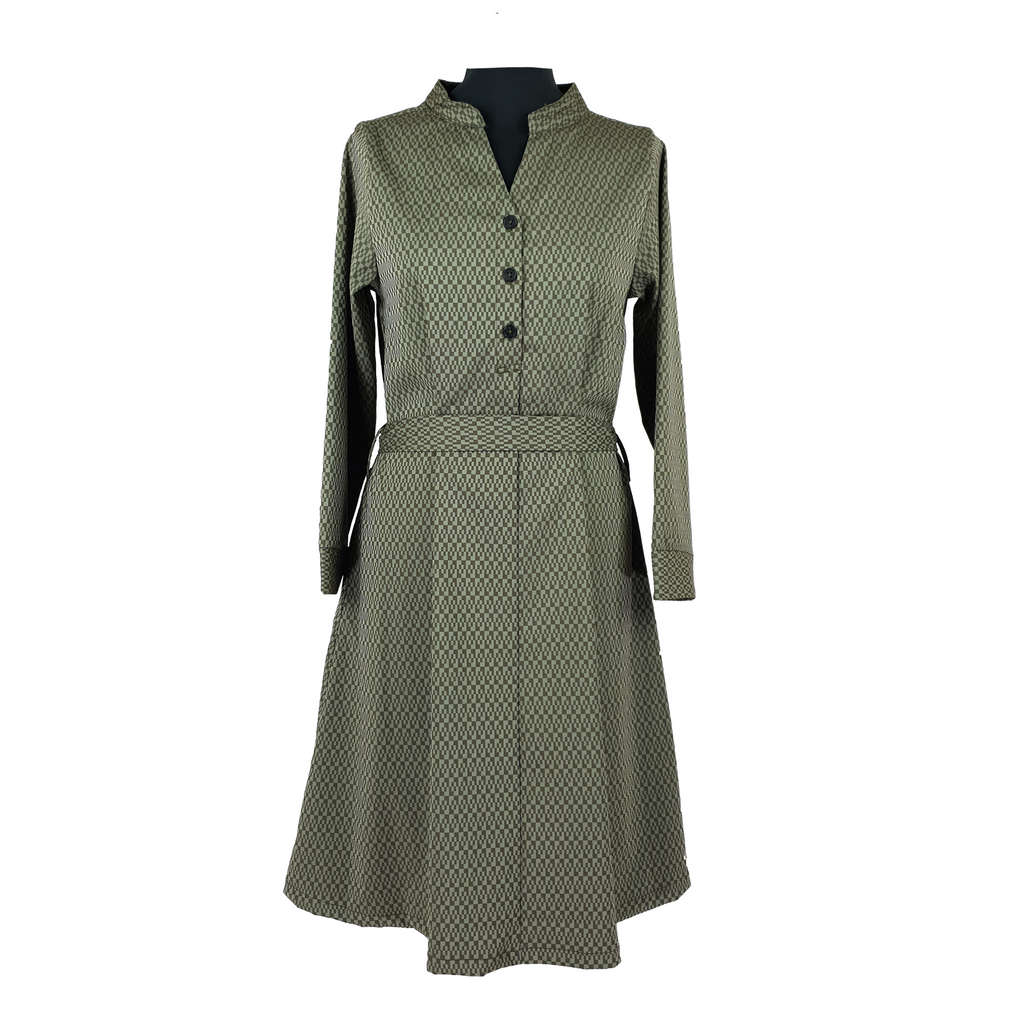 Button Line Dress