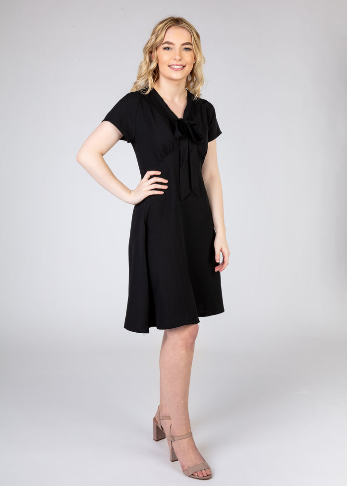Tea Dress with Tie up Front
