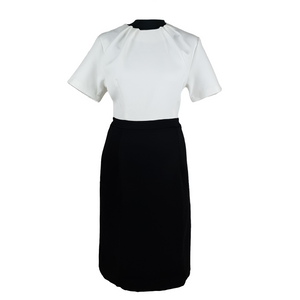 Black & white Block Pencil Dress