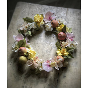 Sugar Flower Wreath by Maggie Austin