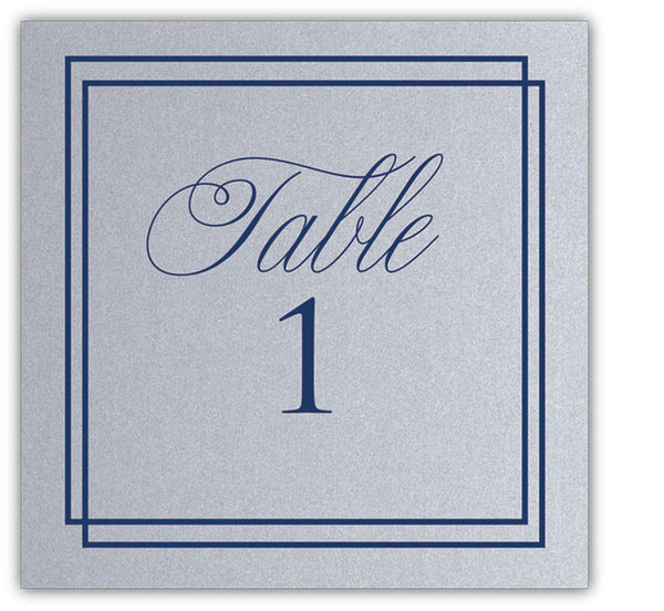 Cayleigh Glam Table Number