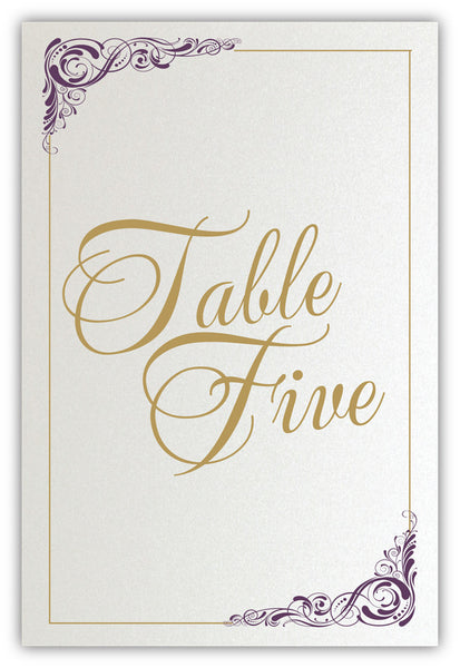 Savannah Classic Table Numbers
