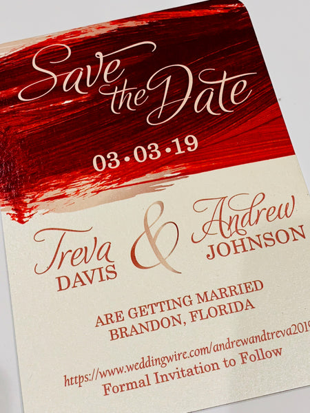 Save The Date (Lisa)