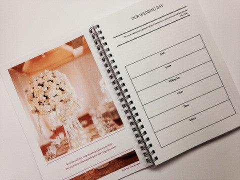 """My Wedding Journal"" (Organizer)"