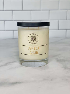 Amber Noir offered by mixdcandleco
