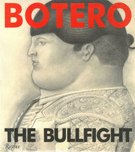 Botero catalogue cover featuring a drawing of a side profile of a matador