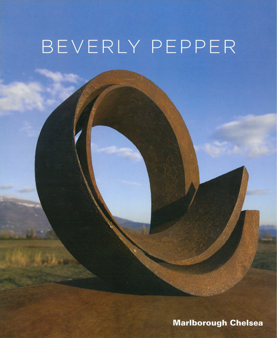 Pepper catalogue cover featuring a steel sculpture