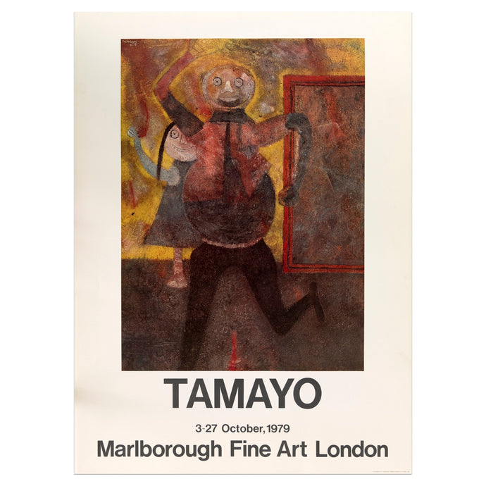 1979 Marlborough Fine Art London poster for Tamayo Rufino featuring two people dancing