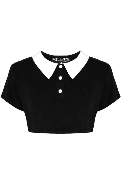 Addams Crop Top [B]