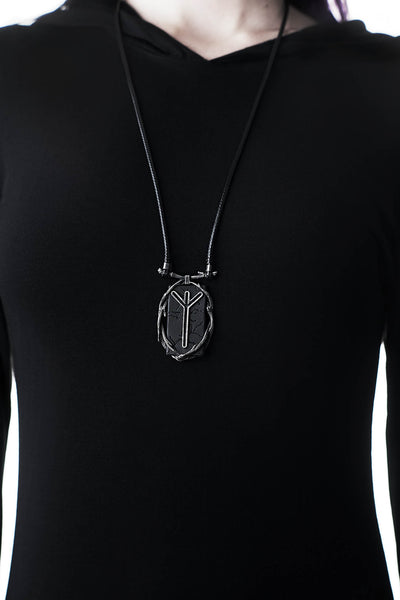 Algiz Rune Necklace
