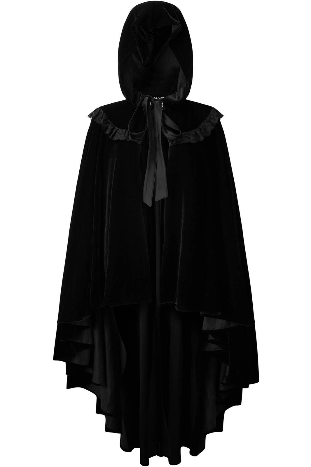 Annora Velvet Cape [PLUS]