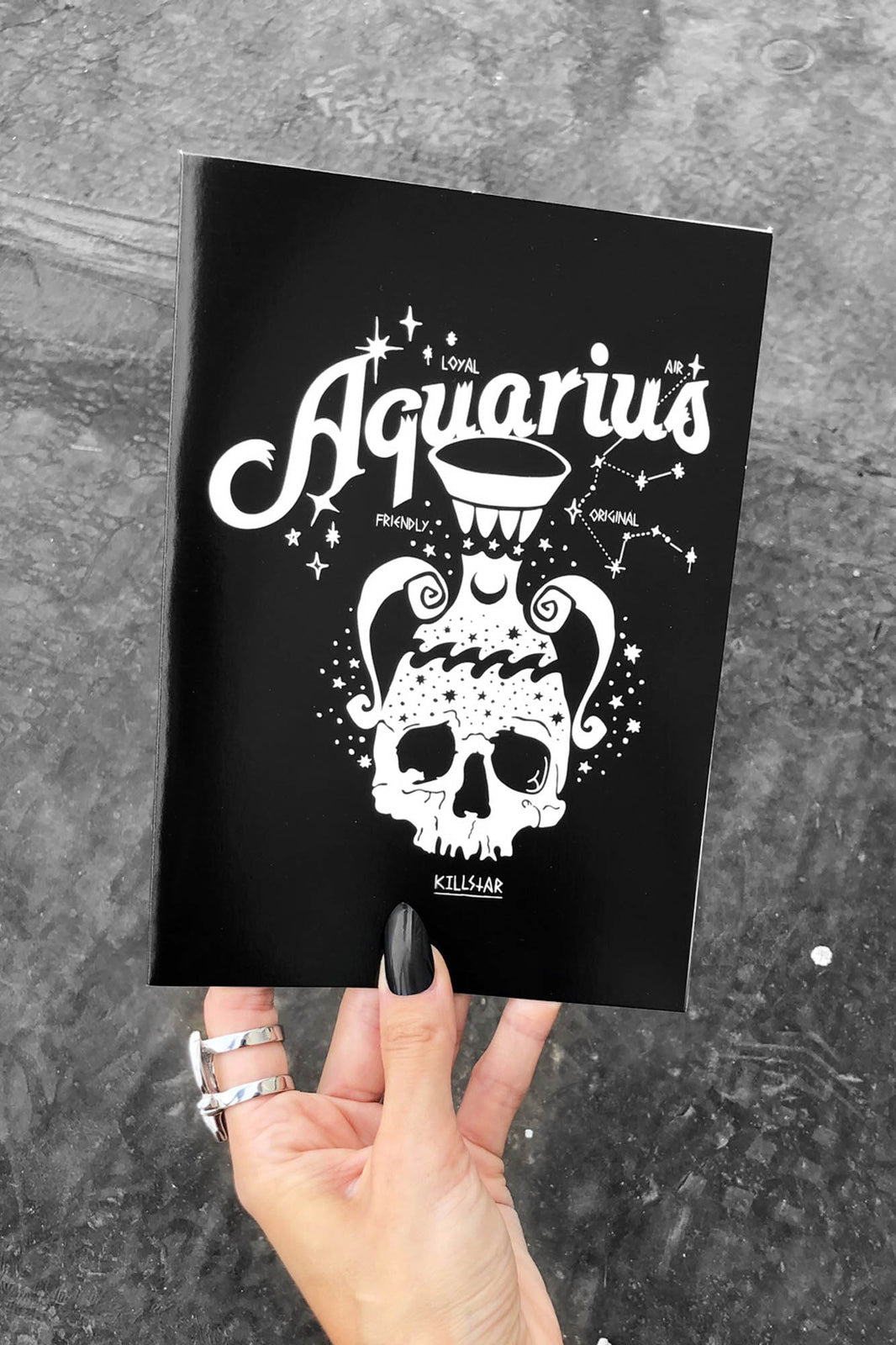 Aquarius Greeting Card