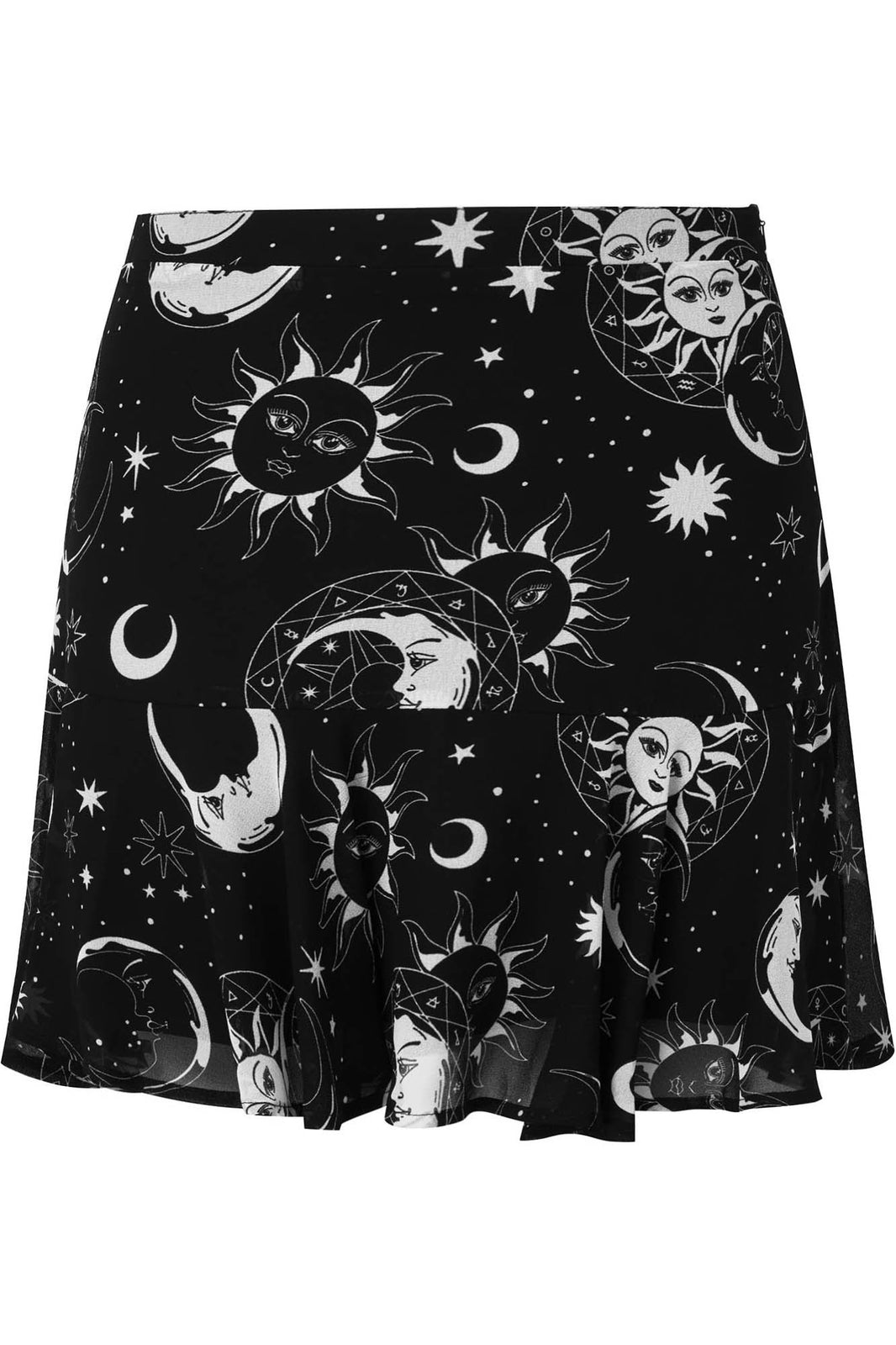 Astral Light Skater Skirt [PLUS]