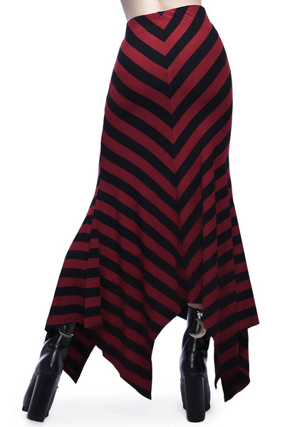 Aubrey Maxi Skirt [BLOOD]
