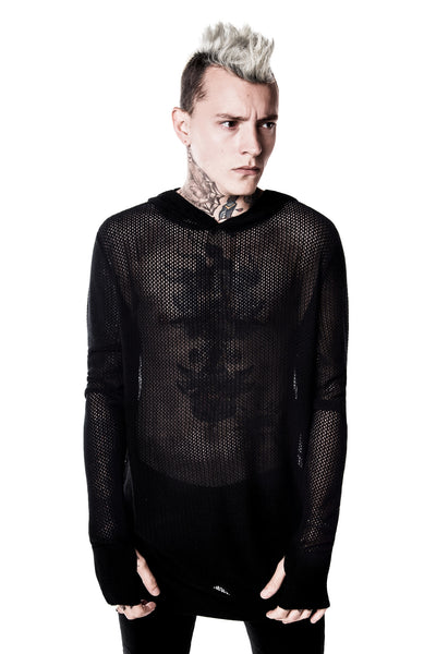 Banishment Mr Strange Knit Hoodie [B]