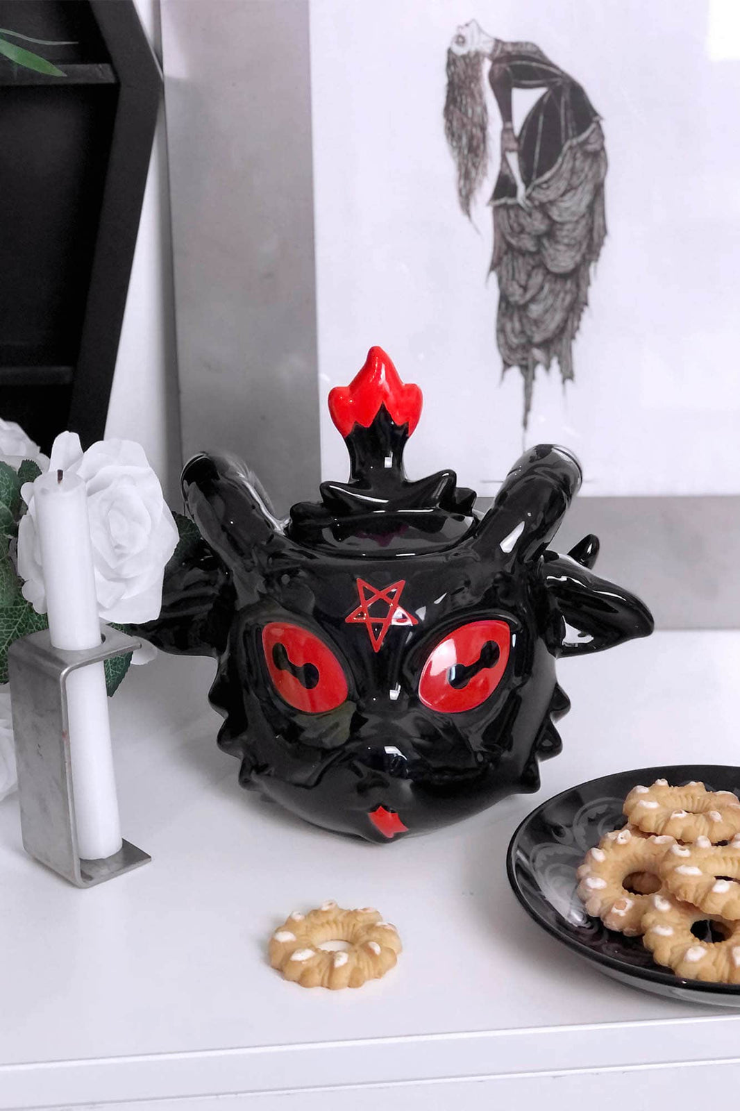 Baphomet Cookie Jar