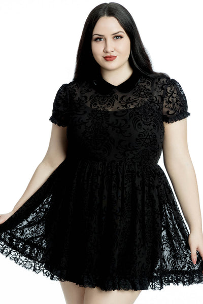 Bathory Babydoll Dress [PLUS]