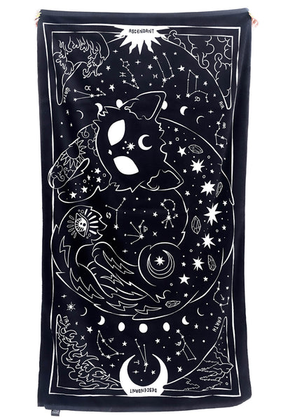 Beach Kitty Towel