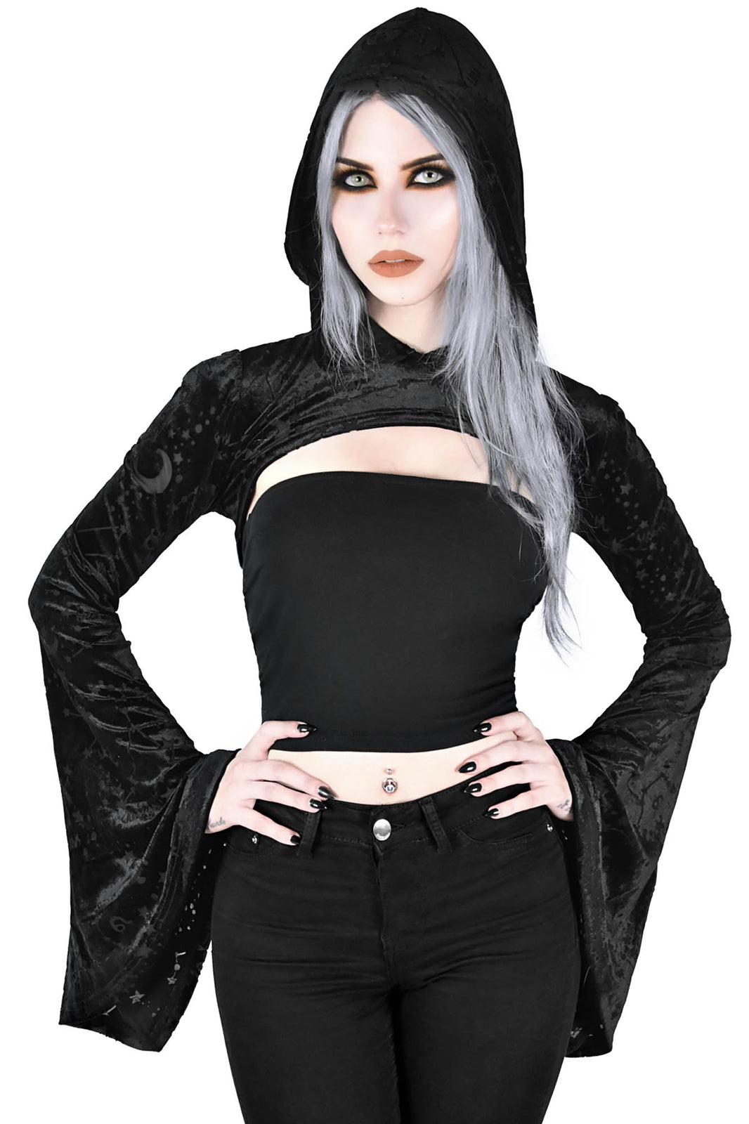 Belinda Hooded Bolero