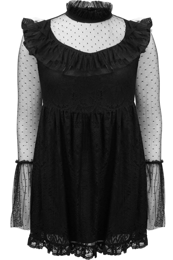 Killstar Bewitched Lace Dress [PLUS]