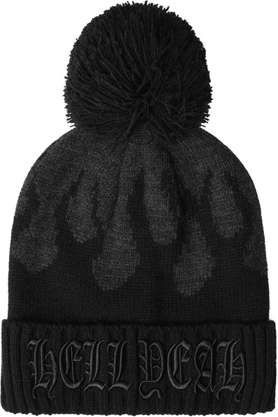 Black Souls Bobble Hat