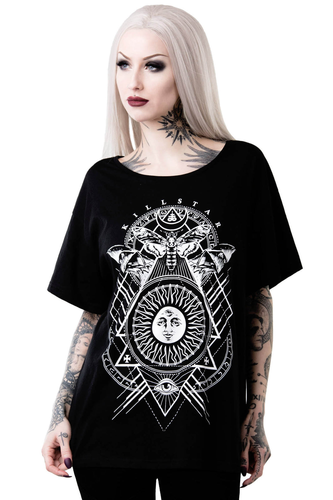 Black Sun Relaxed Top [B]