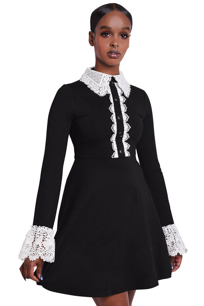 Blessed Be Collar Dress [B]