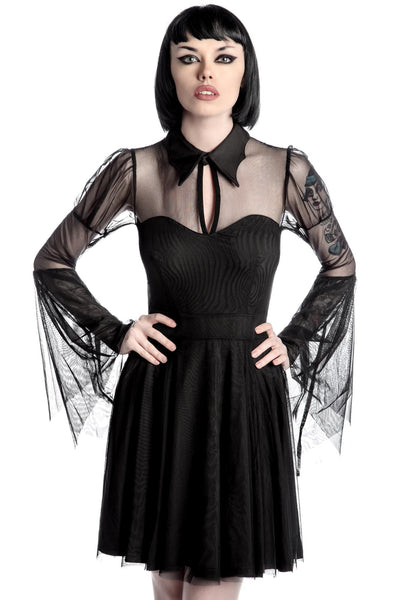 Bound By Blood Chiffon Dress [B]