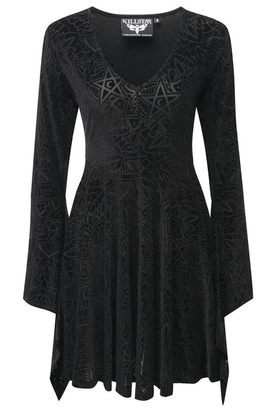 Burn Baby Burn Angel Sleeve Dress [B]