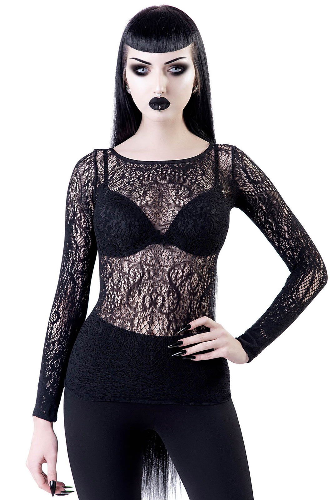 Capella Lace Top