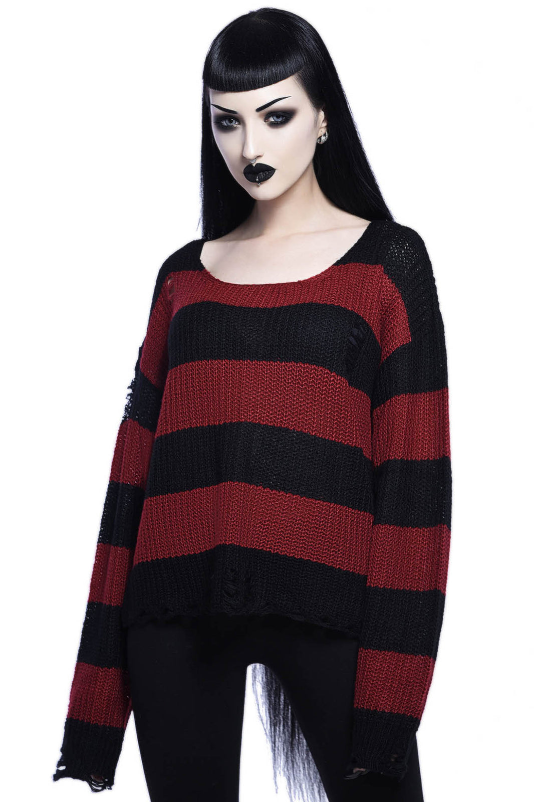 Casey Knit Sweater [BLOOD]