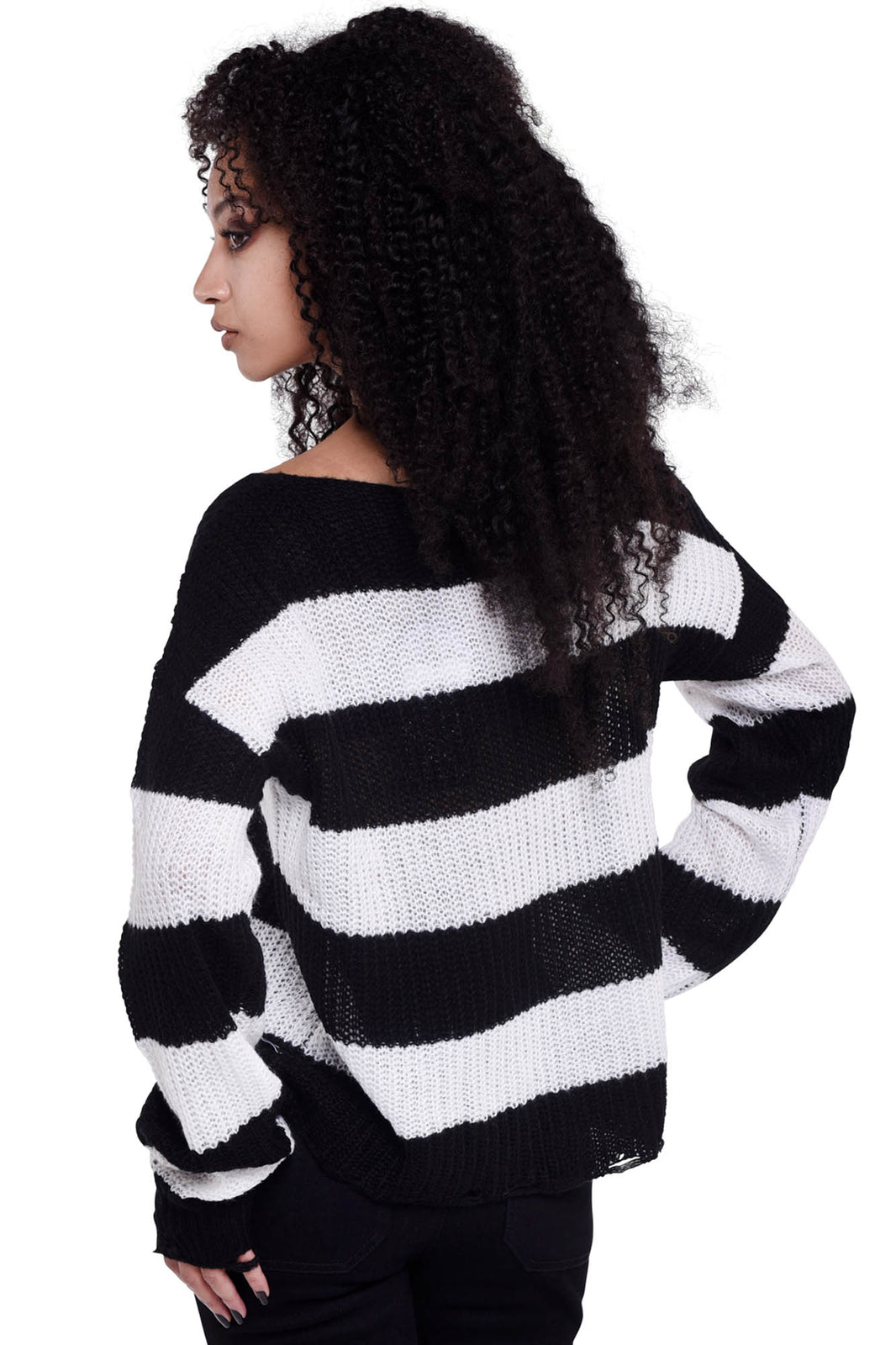 Casey Knit Sweater [WHITE]