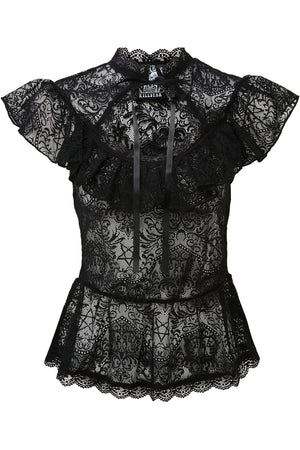 Cassandra Lace Top