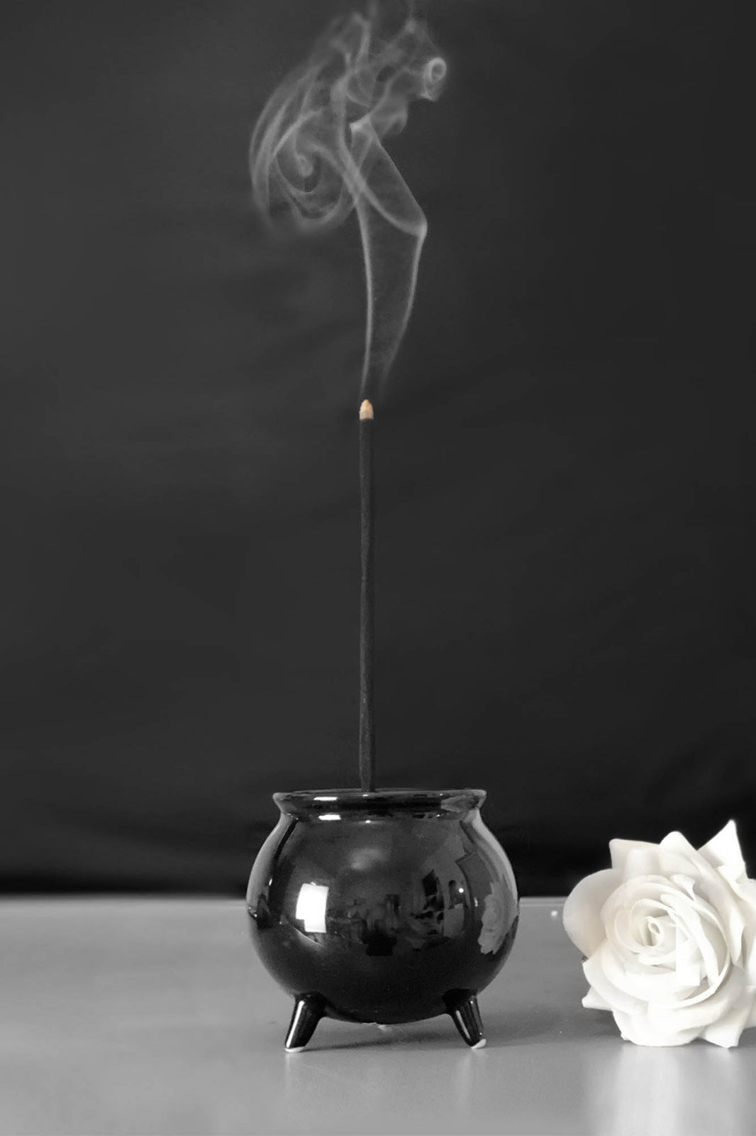 Cauldron Incense Burner