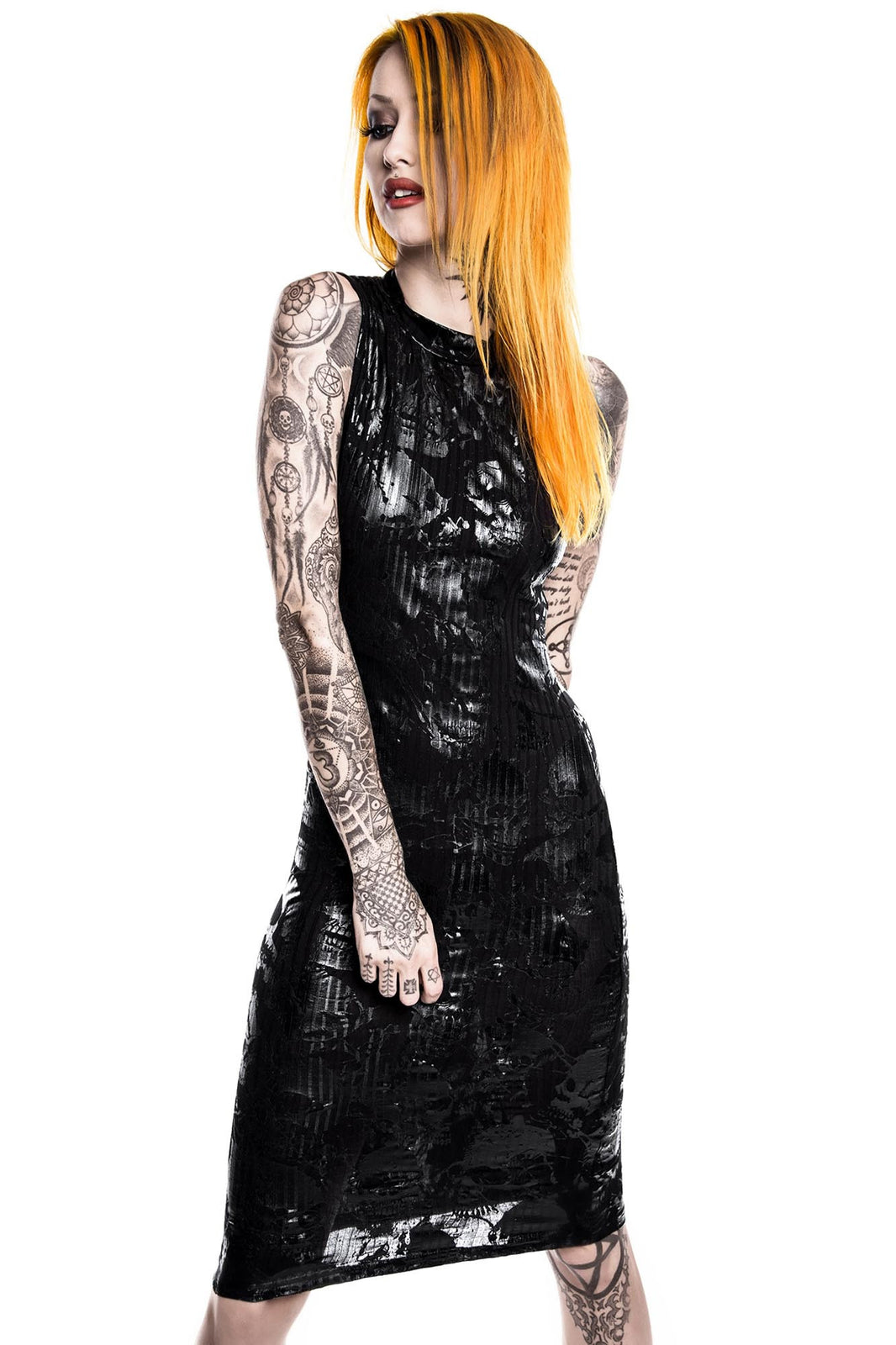 Chaos Enfant Terrible Midi Dress [B]